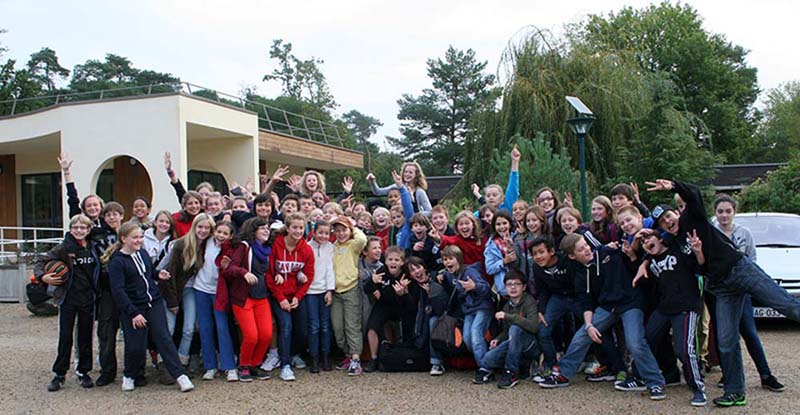Buthiers Group Shot, Fontainebleau International Schools Anglophone Section