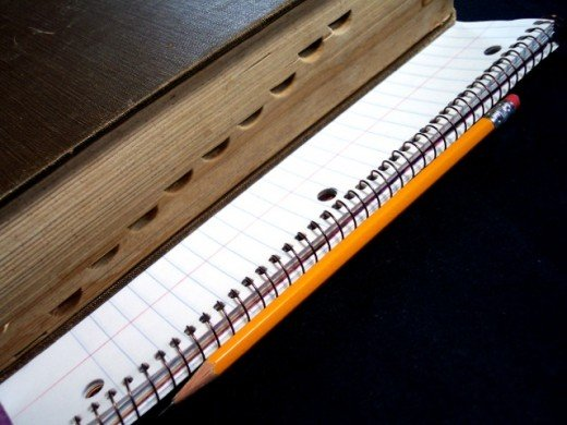 Text and exercise book